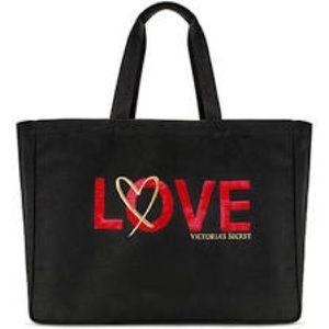Victoria's Secrets Tote Bag.